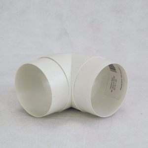 100mm 90deg Bend - Round VKC300 Plastic Ducting - Preservation Shop