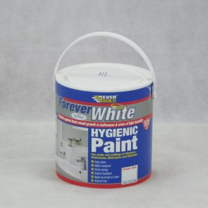 2.5 LTR Forever White Hygienic Paint - Matt - Preservation Shop