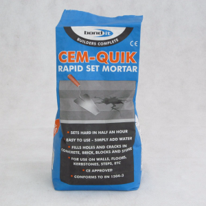 3KG Cemquick Grey Mortar - Preservation Shop