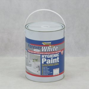 5 LTR Forever White Hygienic Paint - Matt - Preservation Shop