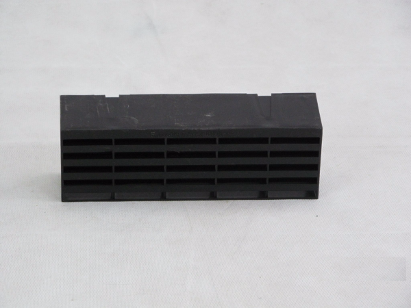 Airbrick 9 x 3 Plastic Black - Preservation Shop