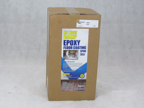 Wykamol Epoxy Floor Coating EP40 5L Clear - Preservation Shop