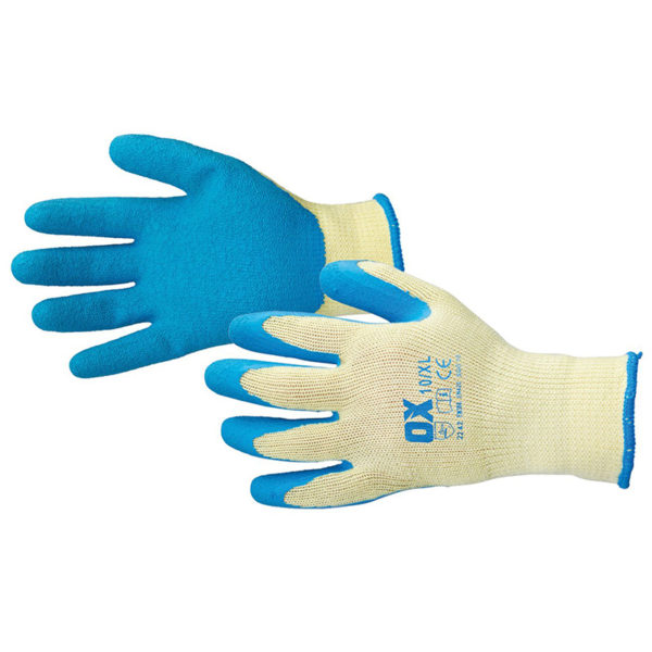 OX Pro Latex Grip Gloves - SIZE 10 (XL)