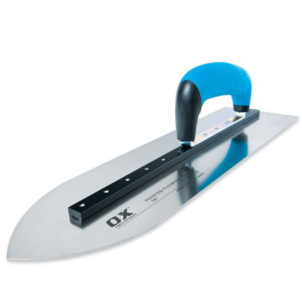 OX Pro pointed Flooring Trowel - 16 inch
