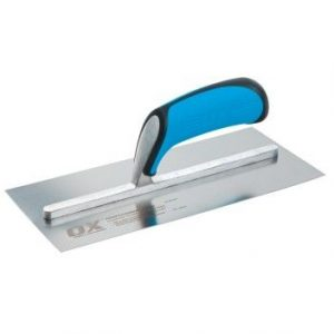 OX PRO STAINLESS STEEL PLASTERERS TROWEL - 114 X 280MM - Preservation Shop