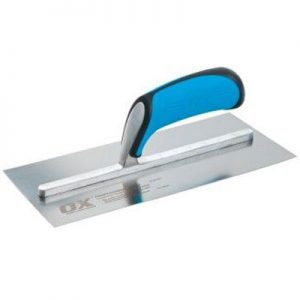 OX PRO STAINLESS STEEL PLASTERERS TROWEL - 120 X 356MM - Preservation Shop