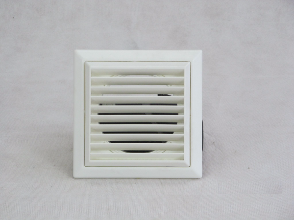 VKC244W White 100mm Louvred Grill Wall Vent - Preservation Shop