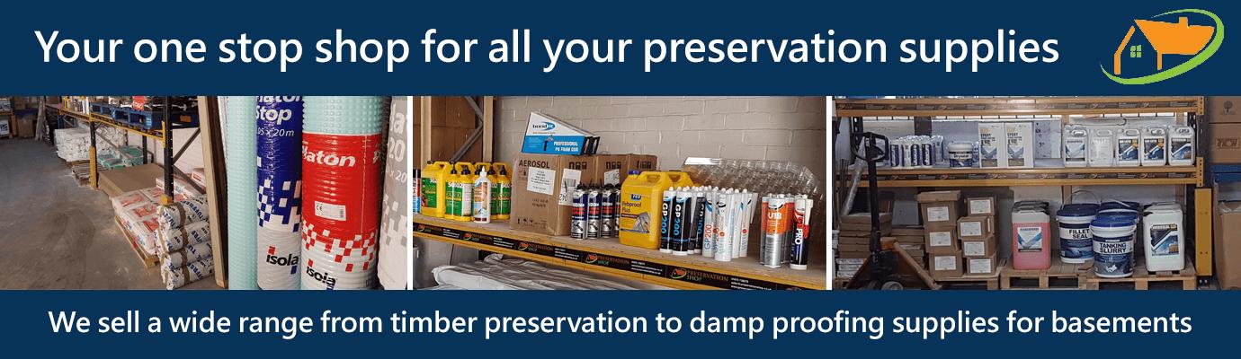 Preservation Shop Shop Banner