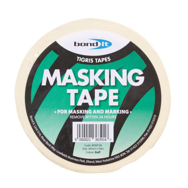 Bond It Masking Tape 36mm x 50m - Preservation Shop