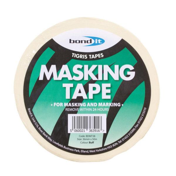Bond It Masking Tape 36mm x 50m - Preservation Shop