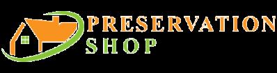 Preservation Shop Logo