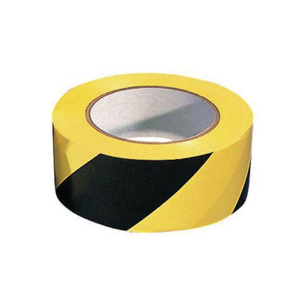 Hazard Tape (Yellow/Black) - 33mtr X 50mm