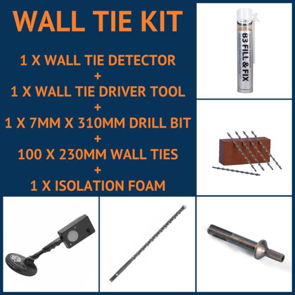 Wall Tie Kit