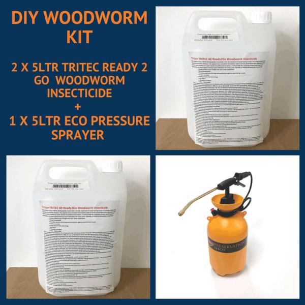 DIY Woodworm Treatment Kit