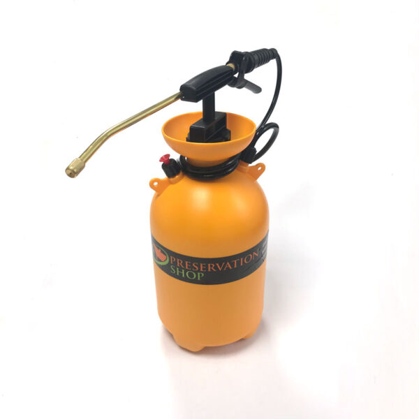 Eco Pressure Sprayer - 5 Litre for treatment of woodworm & wood rotting fungus.