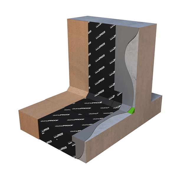 Sureproof Waterproofing Membrane & Sureprime Premium Performance Primer Application