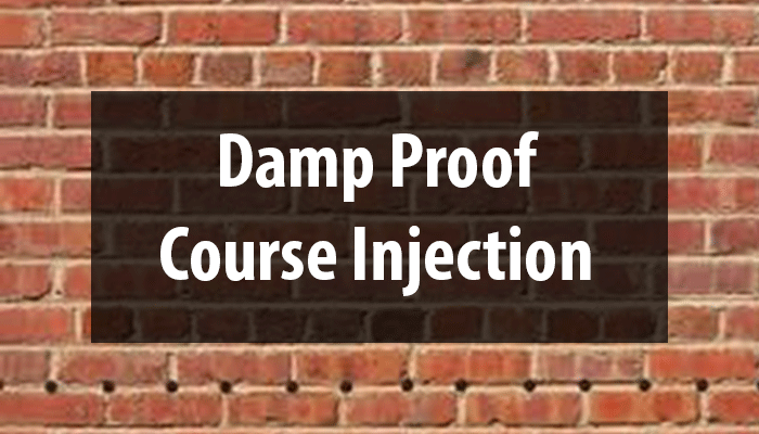 Damp Proof Course Injection (how to inject a chemical injection damp proof course)